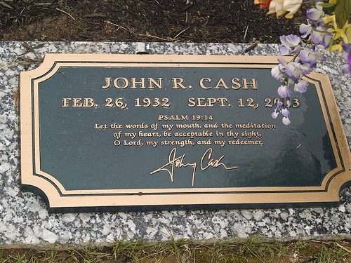 Johnny Cash's Grave